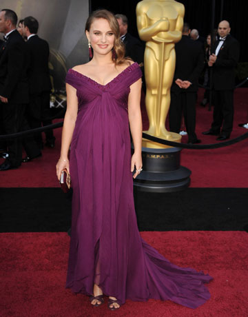 Natalie Portman in Rodarte. Stunning & the signature color of Midtown Girl!