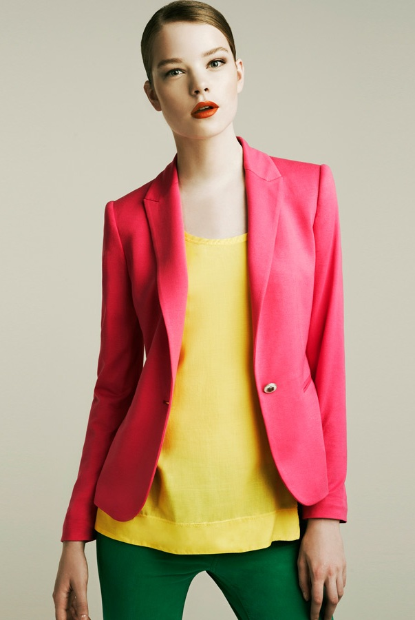 perfect date night outfit. 5 Colored Blazers Perfect For