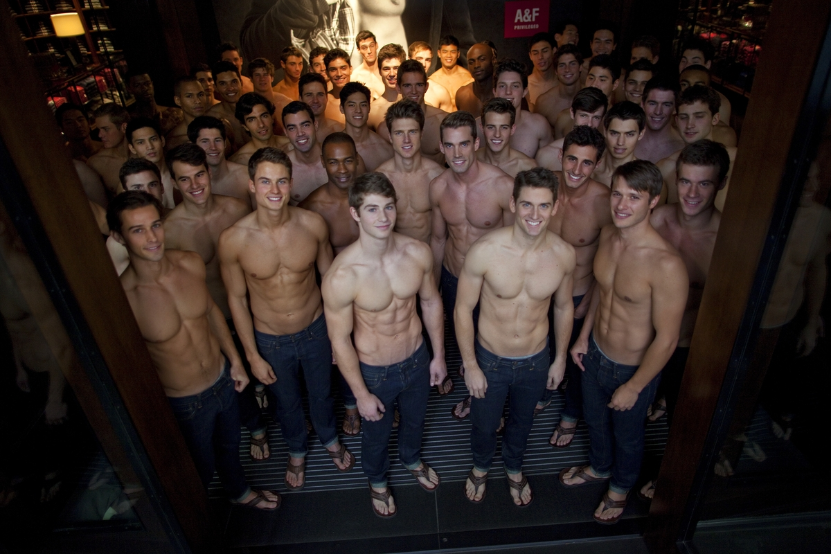 Abercrombie and Fitch Models