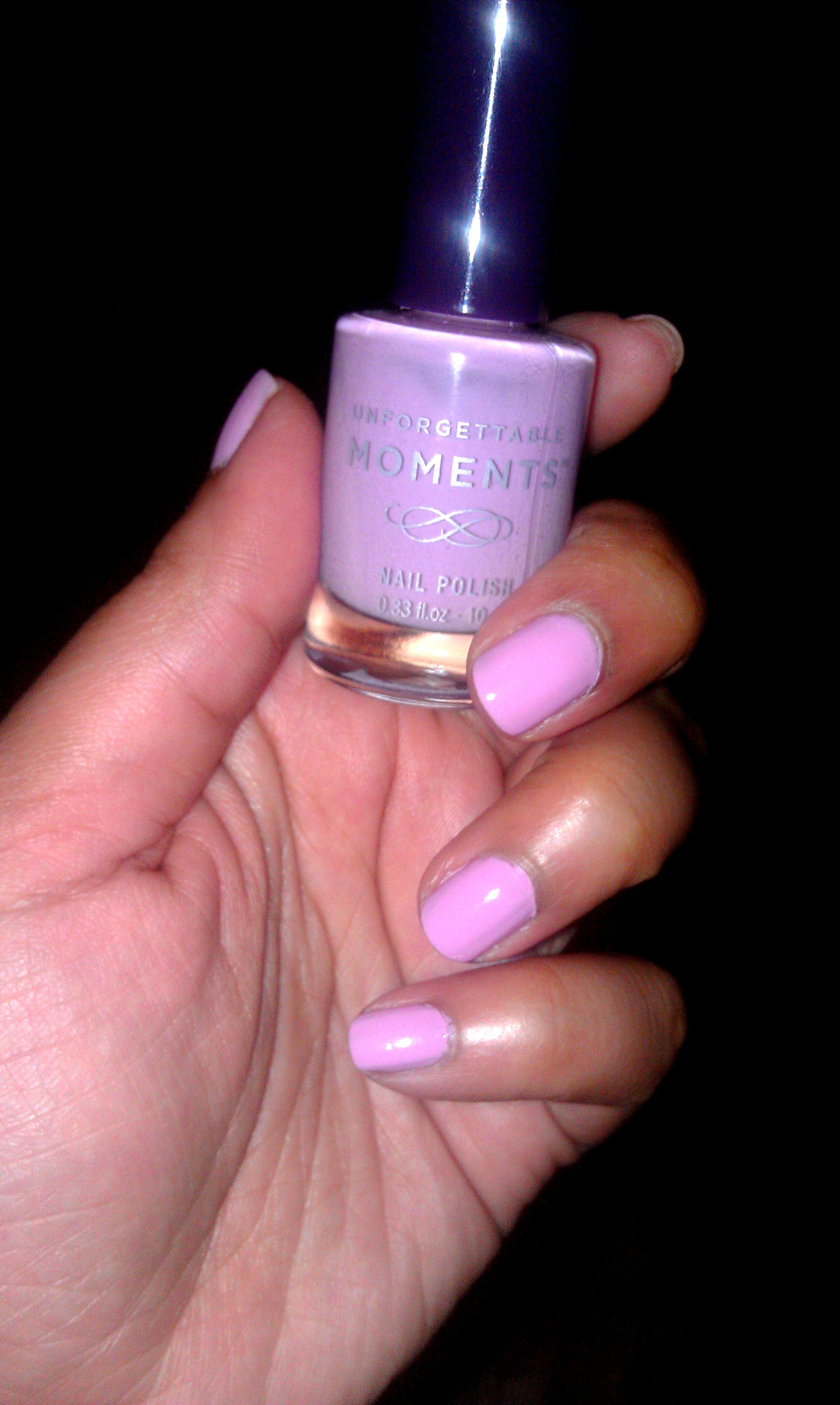Date Night Makeup: Unforgettable Moments Nail Polish In Lilac Love ...