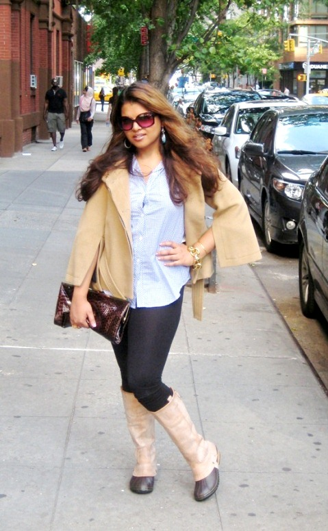 Ready For Fall NYC Style - Midtown Girl by Amy Chandra