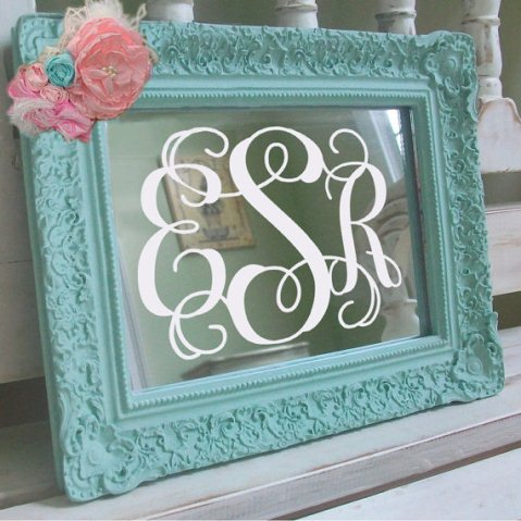 monogram wall decals hd images