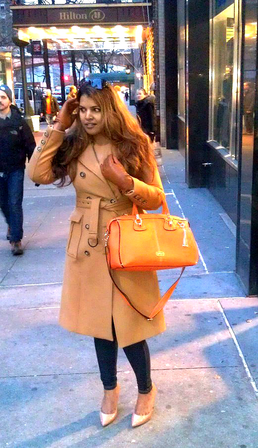 New York Style: Winter In NYC - Midtown Girl by Amy Chandra