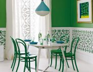 Modern Preppy Glam fretwork patterns