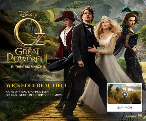 Fabulush Shopping Hsn Amp Oz The Great And Powerful