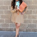 Spring Clutch & Trench - Midtown Girl by Amy Chandra