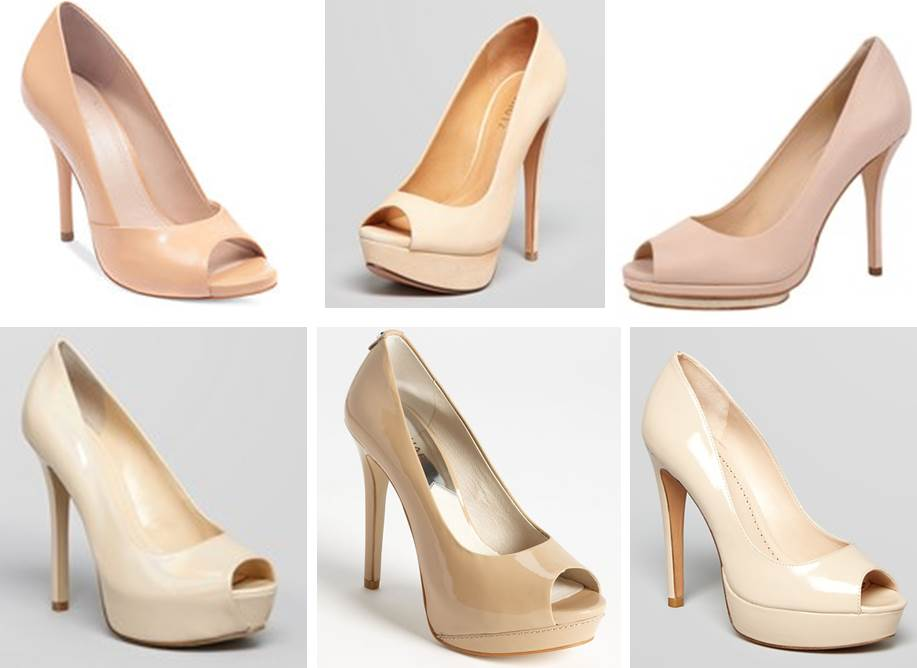 6 Nude Peep-Toe Pumps Perfect For Your Spring Date Outfits