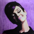 purple, audrey hepburn copyrighted Hayo Sol