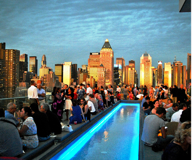 Meatpacking District Clubs - The Standard, Highline Hotel – Le Bain ...