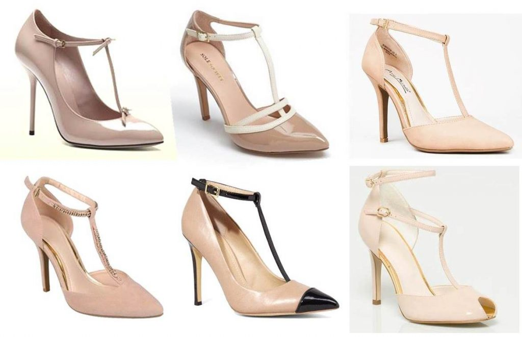 6 Classic Nude T-Strap Heels Perfect For Date Night  Midtown Girl