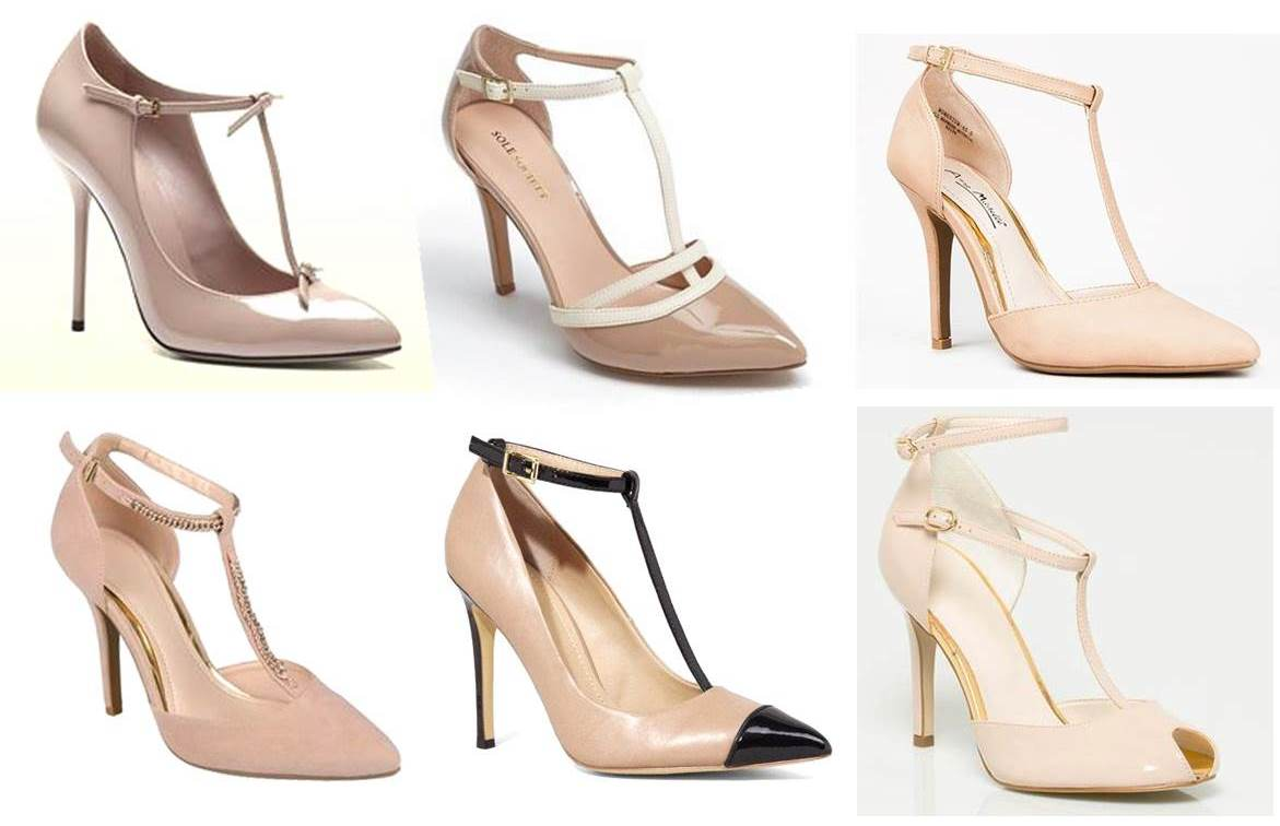6 Classic Nude T-Strap Heels Perfect For Date Night | Midtown Girl