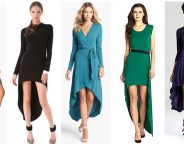Midtown Girl by Amy Chandra - Fall High Low Dresses