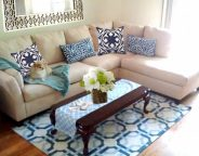 Midtown Girl by Amy Chandra - The Hamptons Girl Modern Preppy Glam Living Room