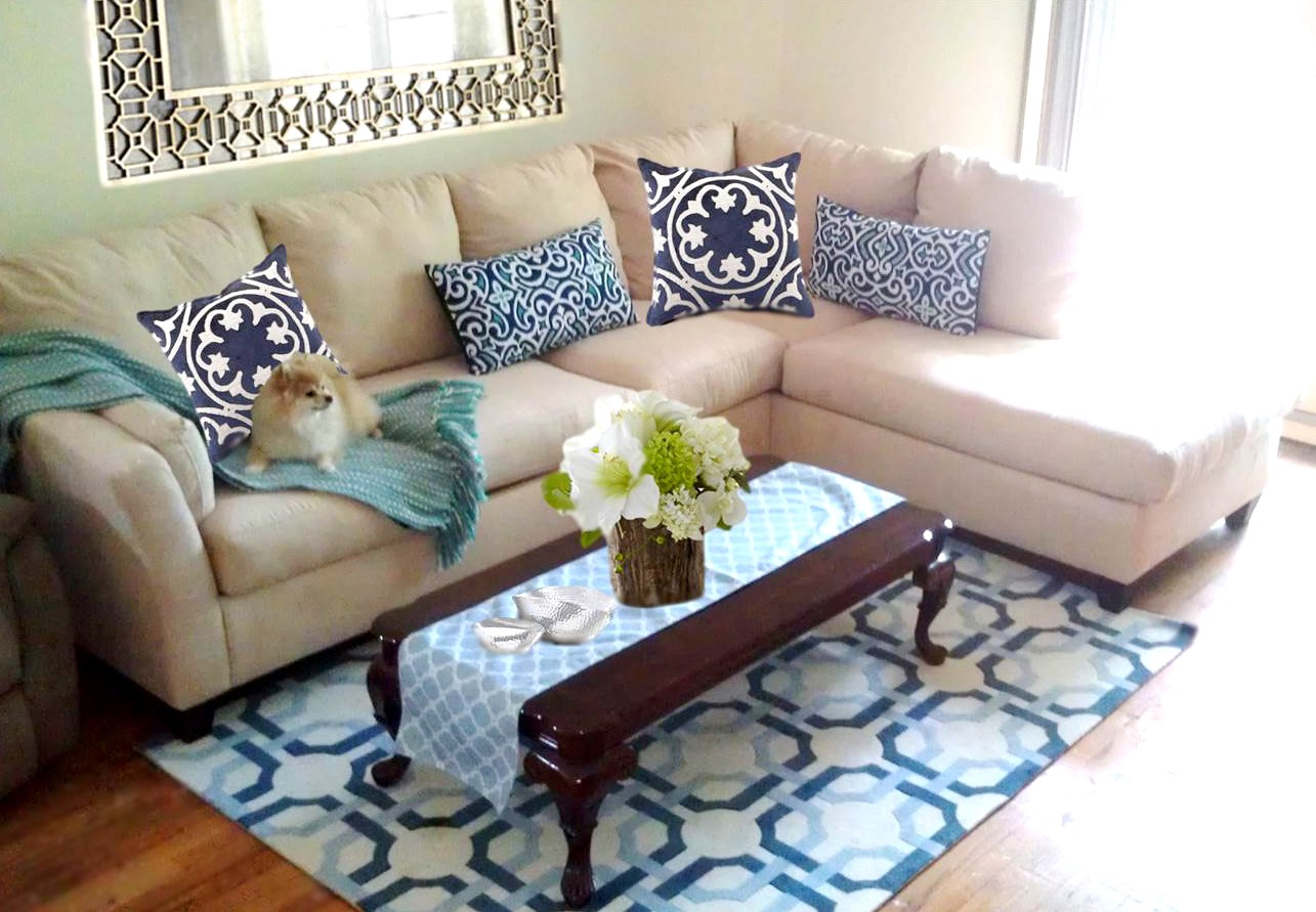Midtown girl by amy chandra the hamptons girl modern preppy glam living room