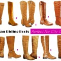 Midtown Girl by Amy Chandra - 10 Tan Riding Boots _