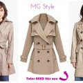 Midtown Girl by Amy Chandra - Classic Trench Coats for Fall