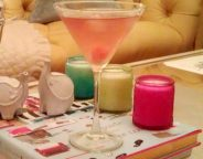 Midtown Girl by Amy Chandra - Girls Night In Cocktail Light Ginger Cranberry Martini