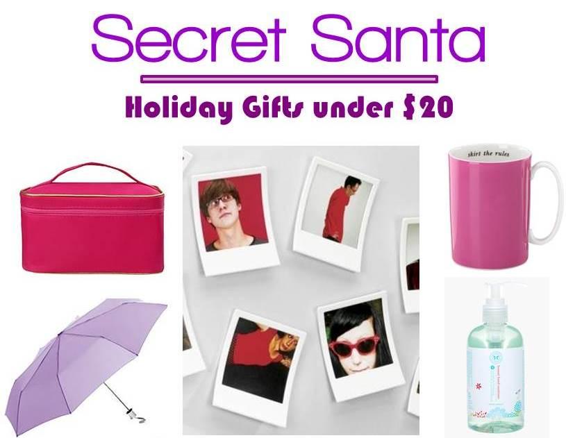 mg holiday gift guide 5 secret santa gifts under 20 midtown girl. Black Bedroom Furniture Sets. Home Design Ideas