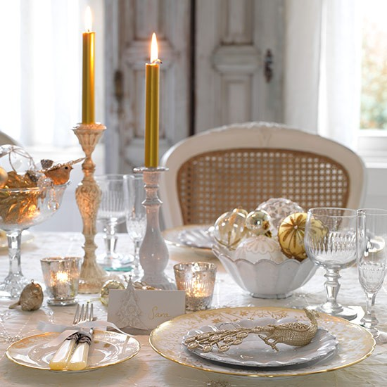 ... glamorous Christmas table settings\u2026 image ... & MG Decor: 5 Fav Glamorous Christmas Table Settings | Midtown Girl