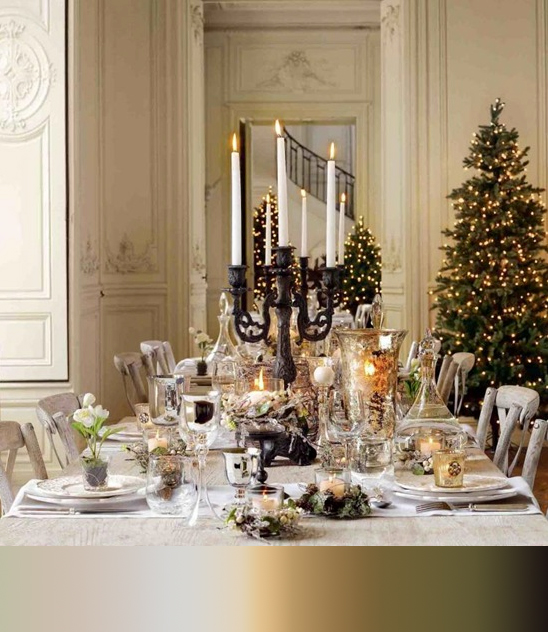 Mg Decor 5 Fav Glamorous Christmas Table Settings