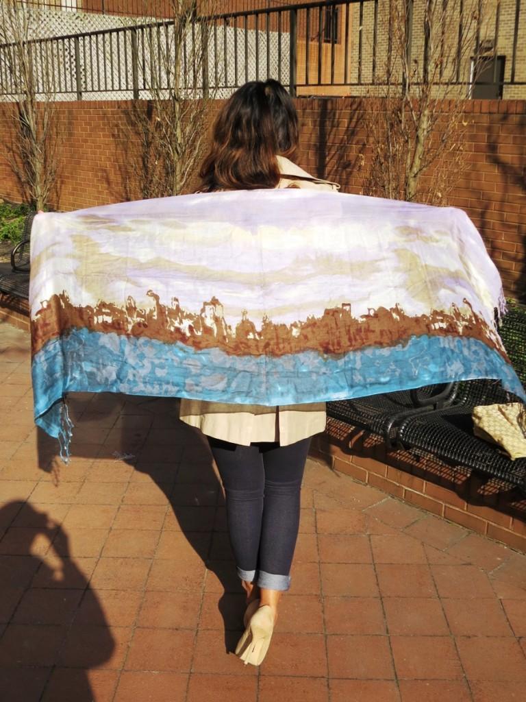 Midtown Girl by Amy Chandra - Garcia Artwear Scarf giveaway (4)
