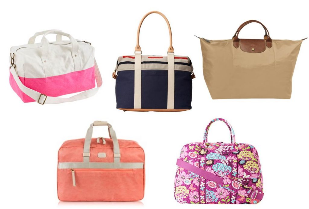 Midtown Girl by Amy Chandra - Preppy Travel Bag, Hamptons Girl