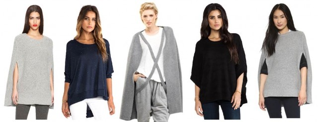 Midtown Girl by Amy Chandra - 5 Sweater Capes For Fall