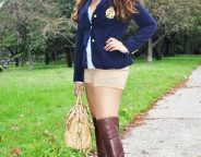 Midtown Girl By Amy Chandra - Preppy Chic Fall Outfit