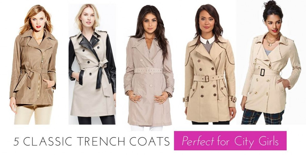 Midtown Girl by Amy Chandra - 5 Classic Trench Coats for Fall
