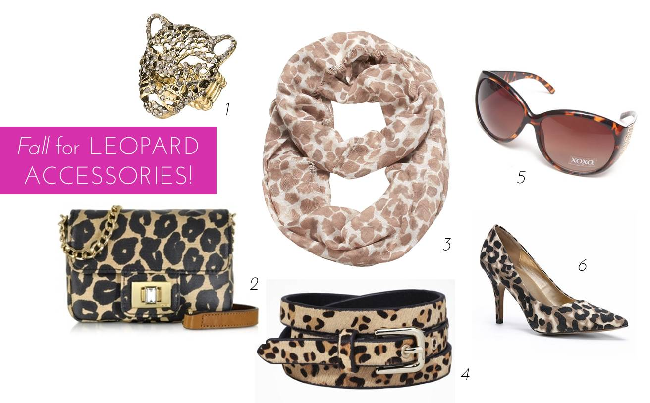 63651a8d5 City Girl Essential – 6 Leopard Print Accessories For Fall