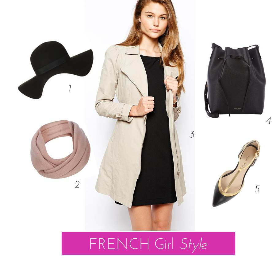 Midtown Girl by Amy Chandra -- Fall French Style Clothing