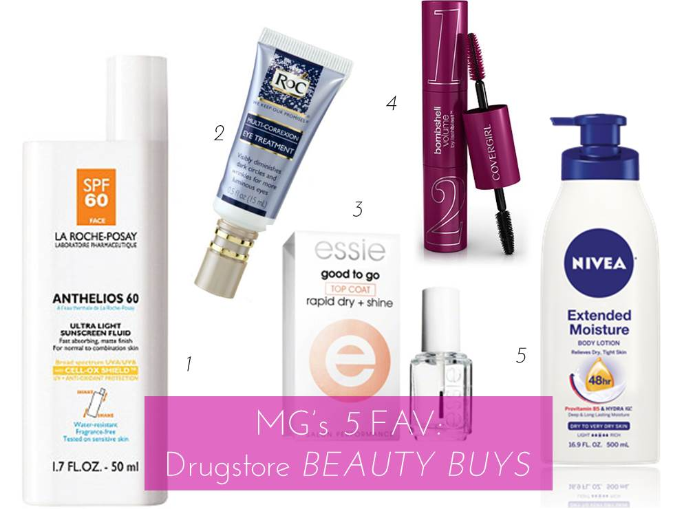 Midtown Girl by Amy Chandra - 5 Favorite Drugstore Beauty Buys