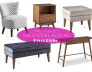 Midtown Girl by Amy Chandra - Mid Century Modern Furniture Target _