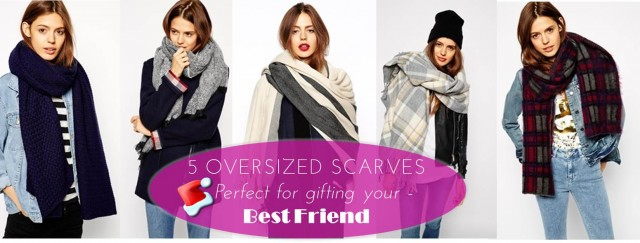 Midtown Girl by Amy Chandra - Best Friend Holiday Gifts, Oversized Scarves