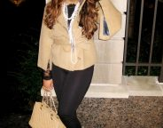 Midtown Girl by Amy Chandra - Evening Cape Coat Chic