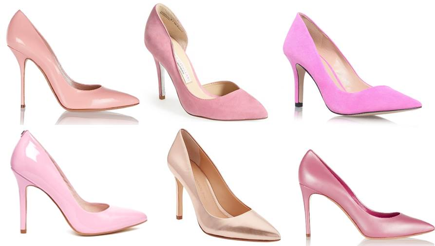 Midtown Girl by Amy Chandra - Pink Pumps For Valentine's Day