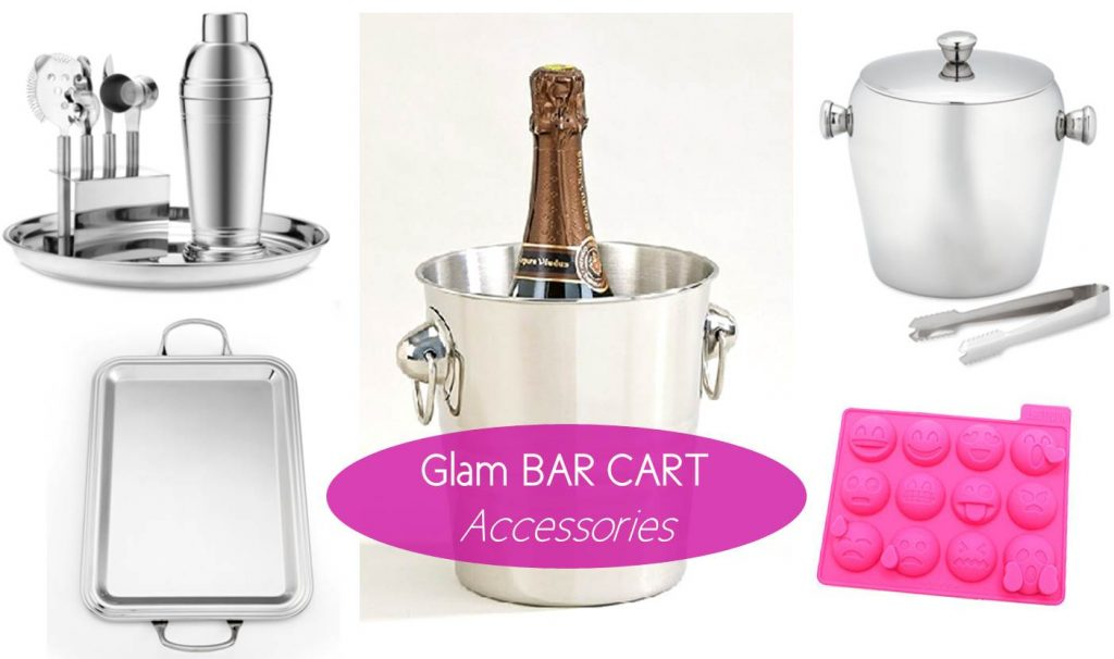 Midtown Girl by Amy Chandra - Manhattan Glamour Style Bar Cart Accessories