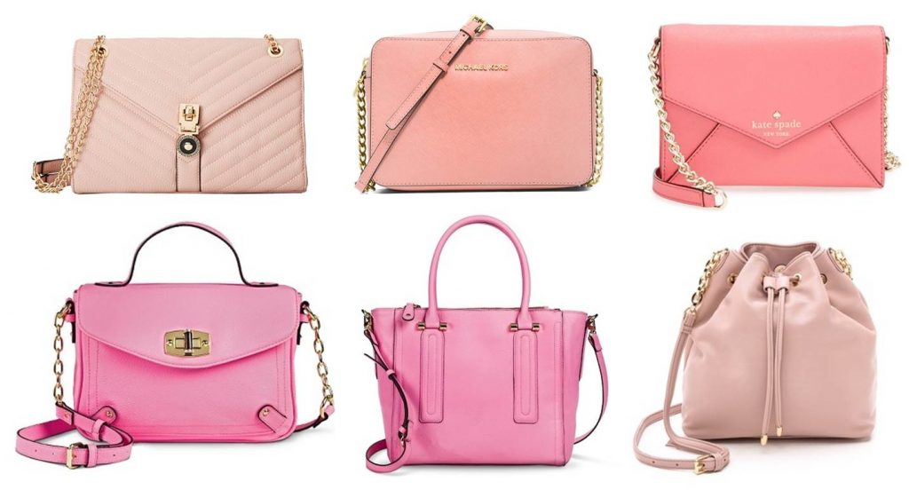 Midtown Girl by Amy Chandra - Pink Handbags Spring Style