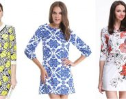 Midtown Girl by Amy Chandra - Floral Shift Dresses, Spring Date Outfit