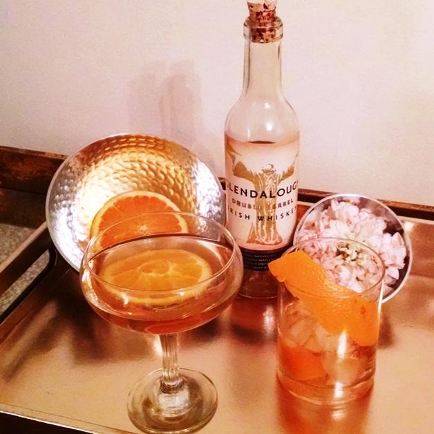 Midtown Girl by Amy Chandra - Glendalough Irish Whiskey cocktail