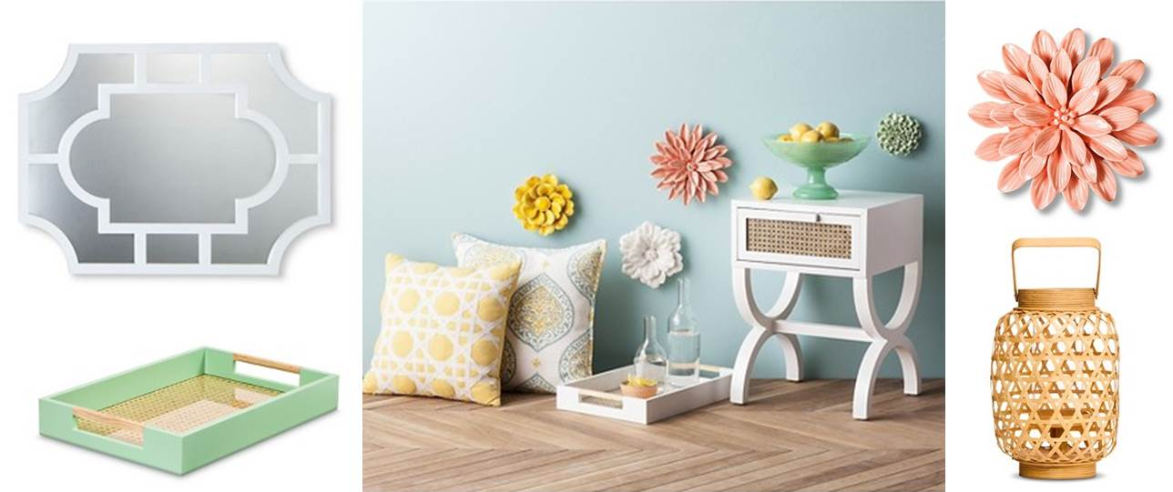 Ceramic Flower Wall Decor Target : Must haves from target style s hamptons decor collection