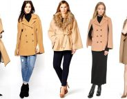 Midtown Girl by Amy Chandra Browne - Camel Cape Coats
