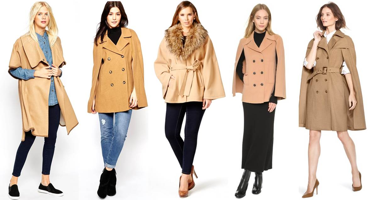 a4467acd1 5 Camel Cape Coats Perfect For City Girls