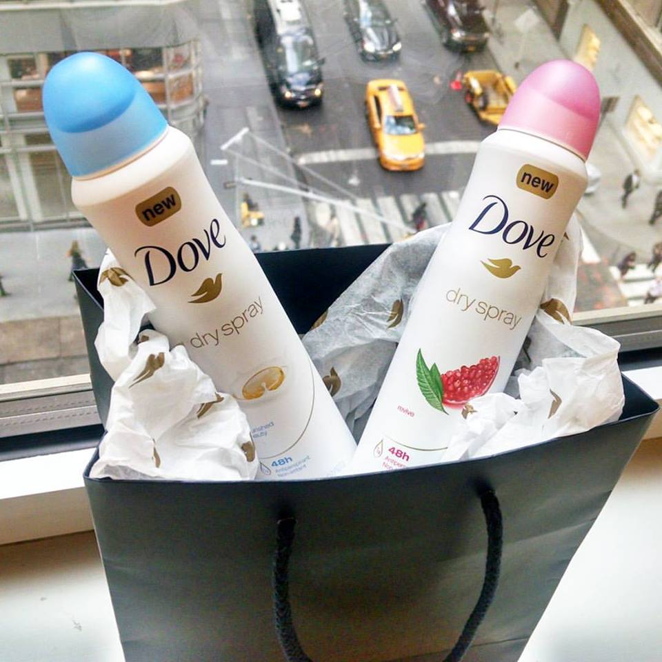 Midtown Girl by Amy Chandra Browne - Dove Dry Spray Antiperspirant Review